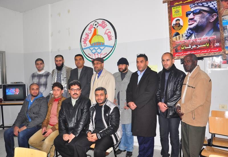 زيارة وفد من مبادرة المثقفين العرب  للنادى