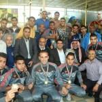 بالصور.. الاتحاد الفلسطيني لكرة القدم في قطاع غزة يكرم نادي الأقصى الرياضي