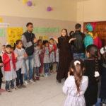 منشطي التعليم المساند يعقدون يوم ترفيهي للاطفال