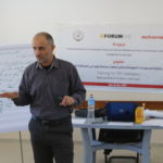 يوم تدريبي حول الحماية وإدارة الازمات في المحافظة الوسطى