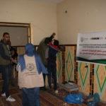 المجموعات الشبابية تنفذ مشروع تركيب شبكات انارة لمنازل بالمصدر