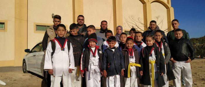 الأقصى الرياضي يشارك في بطولة فلسطين للتايكواندو