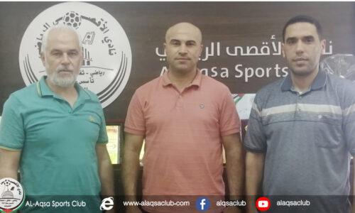 الأقصى الرياضي يعين نبيل زهد مديراً للكرة