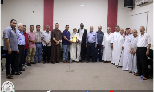 نادي الأقصى يستقبل وفد من لجنة إصلاح النصيرات المركزية الوطنية