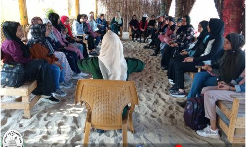 الأقصى يواصل الفعاليات الخارجية لبرنامج تشجيع وتعزيز ريادة الأعمال للفتيات